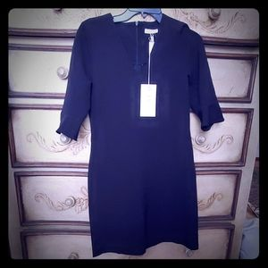 Freebird from Saks Black crepe stretch dress. XS